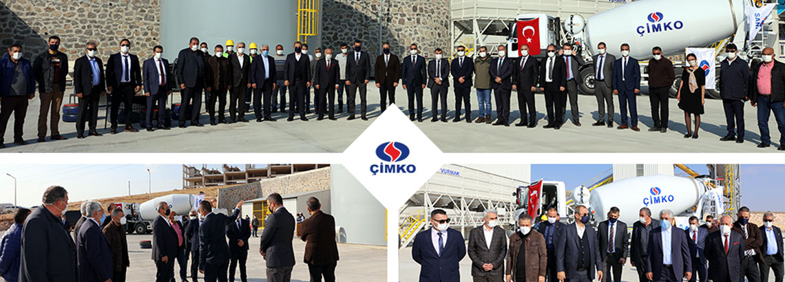 THE 25TH READY-MIXED CONCRETE PLANT OF CİMKO HAS BEEN OPENED.