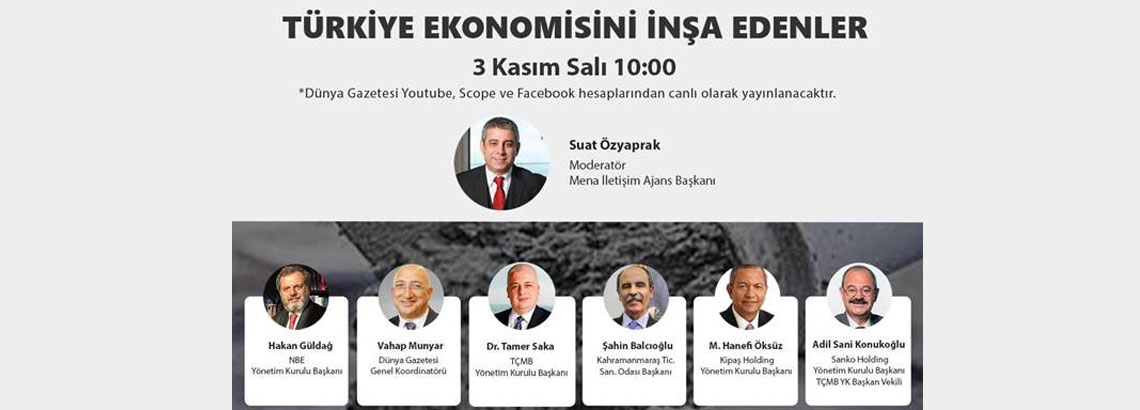 ONLINE WEBINAR OF TURKISH CEMENT MANUFACTURERS